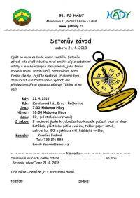 Setonův závod 21.4.2018